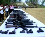 Huge cache of arms, ammunition seized in Bengal