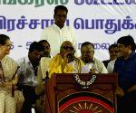 Sonia Gandhi at election rally