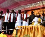 DMK chief Karunanidhi at a public meeting