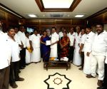 Newly elected DMK MPs, MLAs meet Stalin