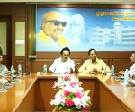 M.K. Stalin chairs meeting with newly elected DMK MPs, MLAs