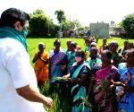DMK protests against farm laws
