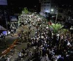 Row erupts over memorial for Karunanidhi