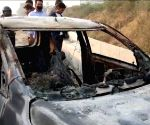 Doc's charred body found in car in Gurugram, kin cry foul
