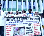 Doctors' candlelight vigil at AIIMS