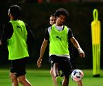 QATAR DOHA SOCCER FIFA CLUB WORLD CUP 2019 AL SADD TRAINING