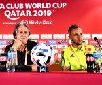 QATAR DOHA SOCCER FIFA CLUB WORLD CUP SEMIFINAL PRESS CONFERENCE