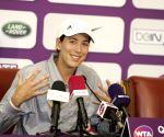QATAR DOHA WTA QATAR OPEN PRESS CONFERENCE