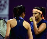 Doha (Qatar): Qatar Open women's doubles - semi-finals - Sania Mirza