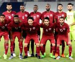 QATAR DOHA SOCCER FRIENDLY MATCH QAT VS PRK