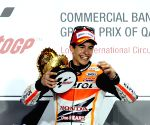 Marquez nabs 8th victory with 6th MotoGP title in sight