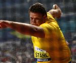 World champion Stahl throws world lead 71.37m in Sollentuna