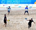 QATAR-DOHA-ANOC WORLD BEACH GAMES-BEACH TENNIS