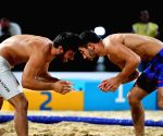QATAR-DOHA-WORLD BEACH GAMES-MEN'S BEACH WRESTLING