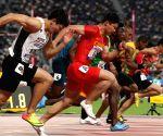 QATAR-DOHA-IAAF WORLD ATHLETICS CHAMPIONSHIPS-MEN'S 100M HEATS