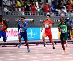 QATAR-DOHA-IAAF WORLD ATHLETICS CHAMPIONSHIPS-MEN'S 100M