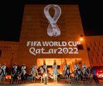QATAR DOHA QATAR WORLD CUP LOGO UNVEILING