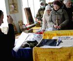 UKRAINE DONETSK FUNERAL
