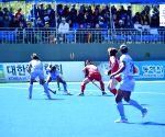 Donghae City (South Korea): Women's Asian Champions Trophy - India Vs South Korea