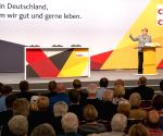 GERMANY DORTMUND MERKEL ELECTION RALLY