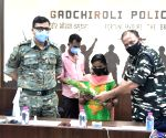 Dreaded 20-year old woman Maoist with Rs.2-Lakh reward on her head, laid down arms before Maharashtra Police in GADCHIROLI.