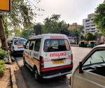 Free Photo: New Delhi: Driver satisfied with maximum ambulance rates in Delhi, but new dilemma revealed