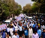 Ola and Uber drivers' protest