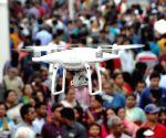 File Photos: Drone cameras