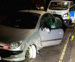 Drunk UK man takes car with tyre-less rim for spin, caught