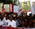 DSO rally against WB Govt.