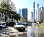 UAE DUBAI RAINFALL TRAFFIC