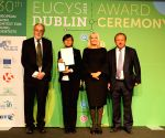 IRELAND-DUBLIN-30TH EUCYS AWARDING CEREMONY