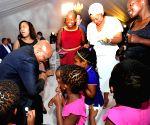 SOUTH AFRICA DURBAN PRESIDENT ZUMA 73RD BIRTHDAY