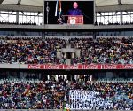 SOUTH AFRICA-DURBAN-HUMAN RIGHTS DAY-CEREMONY