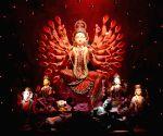 Durga Puja Pandal - Alipore Sarbojanin