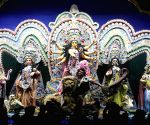 Singhi Park Durga Puja pandal