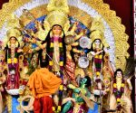 Durga Puja celebrations underway at Kali Bari puja pandal