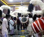 Durga Puja celebrations underway at Mandir Marg puja pandal