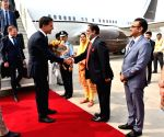 Dutch PM arrives in Delhi
