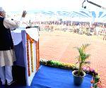 East Champaran: Nitish Kumar inaugurates development projects in Bihar's Areraj