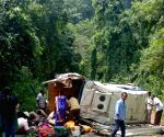 East Godavari: 8 killed in Andhra bus accident