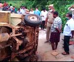 East Godavari: 6 killed as van overturns in Andhra Pradesh's East Godavari district