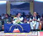 East Siang: Rajnath Singh inaugurates Sisseri River bridge in Arunachal