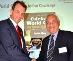 ECB's chief executive launches Ashis Ray's book on WCs