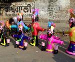 Effigies of Hindu demon king 'Ravana' on sale ahead of Dussehra