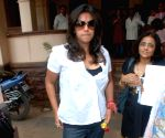 "Ekta Kapoor at the launch of her new serial ""Koi Aane Ko Hai"" on Colors.."