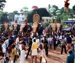 Onam procession Thrikkakara Temple