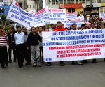 SBI employees' rally