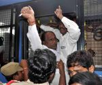 Left Party workers, RTC employees protest during Telangana shutdown, detained