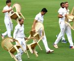 England cricketers in Visakhapatnam
